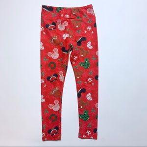 Charlie's Project Mickey Christmas Leggings